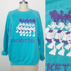Vintage Reno Duckettes 80s Crewneck Sweatshirt
